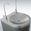 w-DEMI-LUNE-SUR-SOL-Cuvette-avec-option-robinet-Col-de-cygne-supplementaire-fontaine-EDAFIM